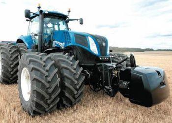 Az új New Holland T8-as traktor