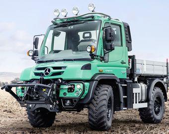 Új Mercedes-Benz Unimog