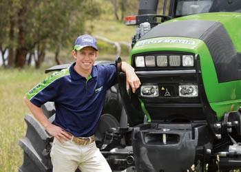 Casey Stoner, a MotoGP kétszeres ausztrál világbajnoka lesz a DEUTZ-FAHR traktorok arca a következő két év során
