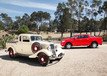 Idén 80 éve született a mai Pickup-ok őse, a FORD UTE