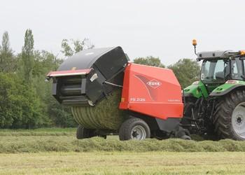 Kuhn bálázók a zöldtakarmánykészítés élvonalában