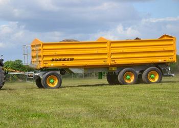 Új Joskin háromtengelyes univerzális billenő-felépítményes pótkocsi