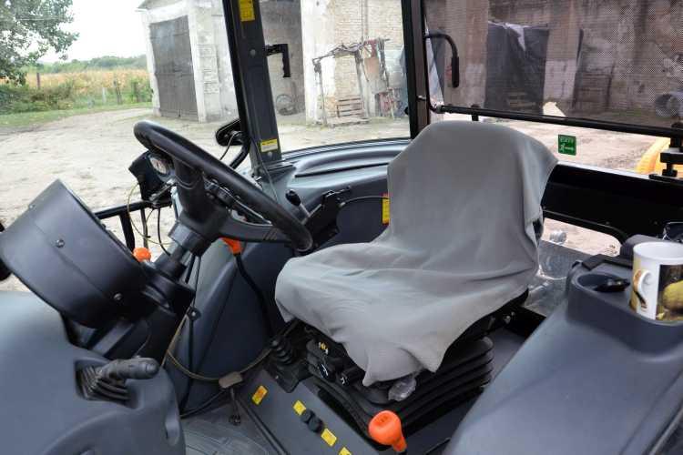 A kabin komfortos munkavégzést biztosít
