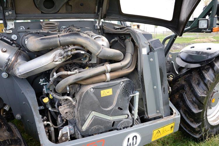 A Smart Driving fordulatszámcsökkentő rendszer még kedvezőbbé teszi a 3,6 literes Deutz motor fogyasztását