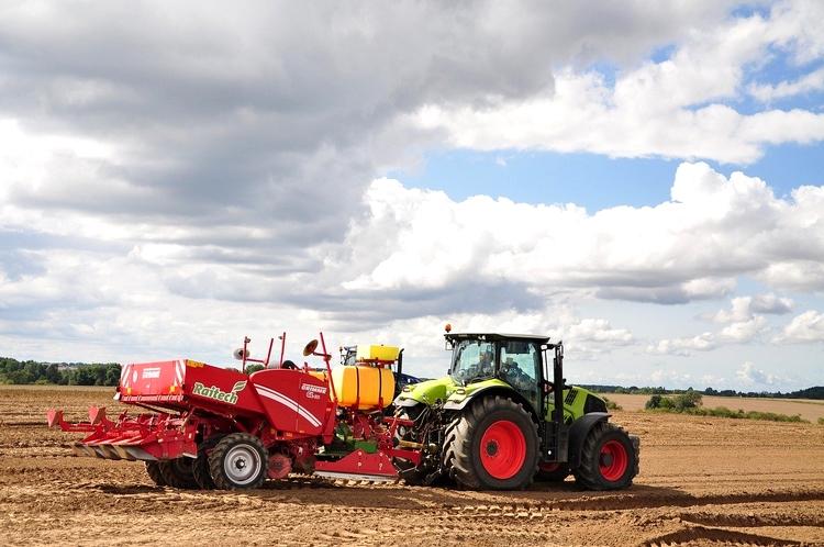 Gépiesített mezőgazdaság