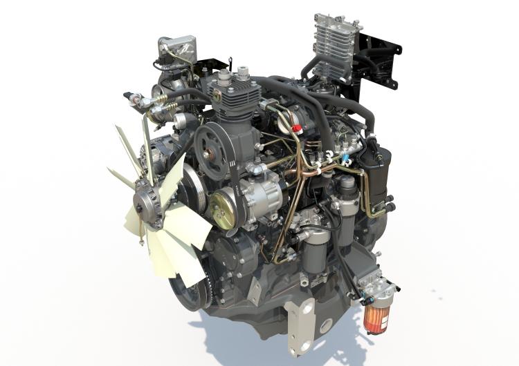 4.4 literes, négyhengeres AGCO Power motor