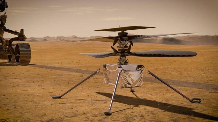 Ingenuity drón mars