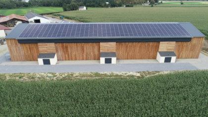 Takarmányszárítás Cogen Air® termovoltaikus napelemmel