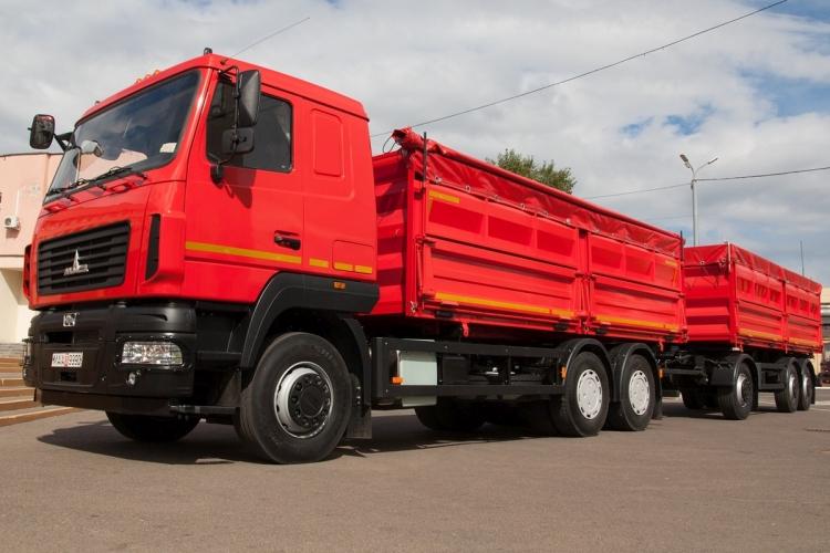 maz teherautó