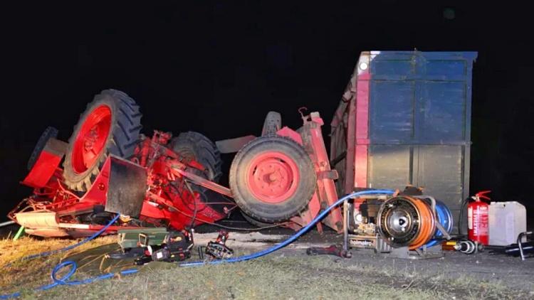 Mezőgazdasági munkagép, baleset